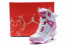 Nike Air Jordan 3.5 Heels White/Pink