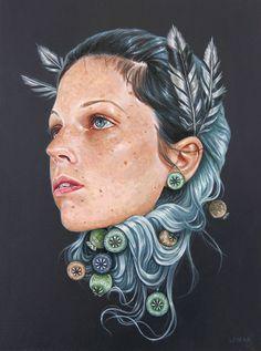 Edith Lebeau #illustration #painting