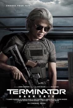 Terminator Dark Fate Character Posters