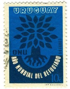 Words & Eggs - Posts - Postage Stamp Designs #stamp #uruguay #postage