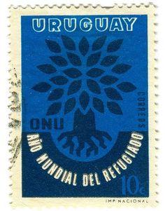 Words & Eggs - Posts - Postage StampDesigns #stamp #uruguay #postage