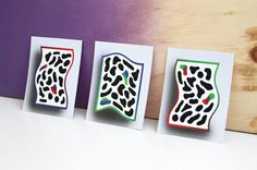 RGB Postcards Luis Othón #postcard #ink #rgb