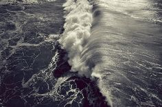 All sizes | +++ | Flickr - Photo Sharing! #white #water #black #wave #sea #photography #and