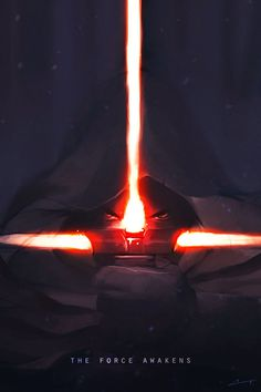 There's Already Amazing Star Wars: Episode VII Fan Art #lightsaber #george #sword #fi #sci #wars #force #hilt #star #film #poster #art #fan #lucas #awakens