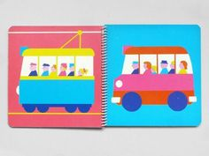 French picture book, 1977. #illustration #color #retro