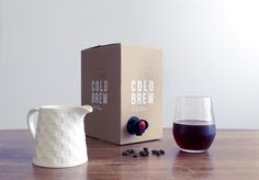 Darlo Cold Brew pack #coldbrew #coffee #packaging