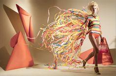 plenty of colour #fashion #ribbons #paper