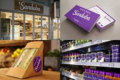 Sanduba Branding & Identity #branding #business #packaging #stickers #signage #cards