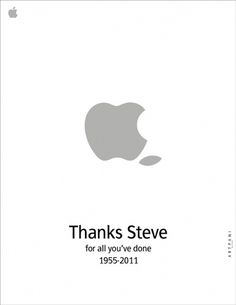 Steve 1955–2011 #steve #apple #siavash #fani #jobs #mac