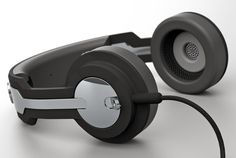 Twin Headphone #tech #amazing #modern #innovation #design #futuristic #gadget #ideas #craft #illustration #industrial #concept #art #cool