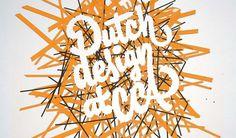 Dutch Design Week at CCA #rivera #california #cca #james #micah #dutch #edmondson #typography