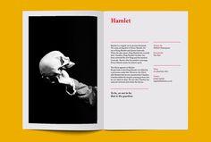 Wigan Little Theatre by Alphabet #print #graphic design #magazine