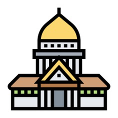 See more icon inspiration related to museum, europe, architecture, france, paris, buildings, monument, building and construction on Flaticon.