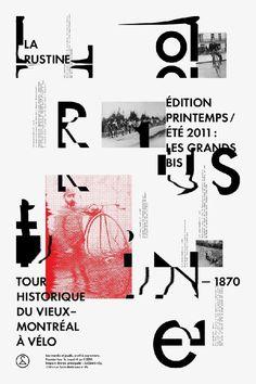 Typography / studioantwork: Clik clk Emanuel Cohen #typography #layout #poster design