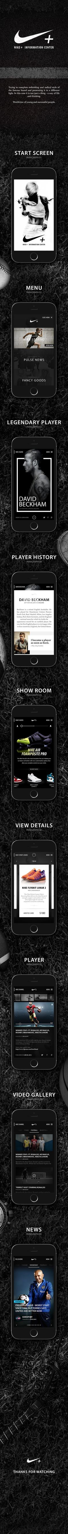 Nike. New Look & Concept on Behance #app design #web