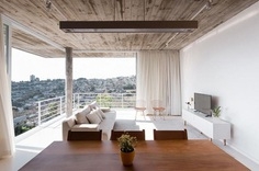 Concrete White House In Brazil Overlooks The City From Above 5