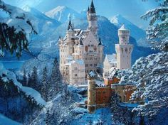 Your daily escape. #Neuschwanstein #Castle #travel #TBIN So, who's ready for a trip?