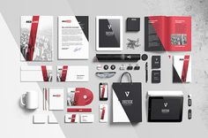 set of 26 separated elements to showcase your projects in a very realistic and professional way. Each of them you can hide, unhide, move and #branding #depth #presentation #letterhead #paper #briefcase #mock #business #elements #perspective #psd #design #identity #stationery #document #tubus #envelope #separate #a4 #card #smart #corporate #photoshop #up #folder