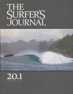 (in the news) | Matuse Wetsuits : art + function » Mikala Jones: The Surfer's Journal Cover #surfing #cover #print #magazine
