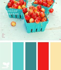 Pinned Image #colors #blue #red