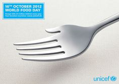 adcollector: SAATCHI & SAATCHI (Switzerland) for Unicef Switzerland: World Food Day #unicef #saatchi #ad