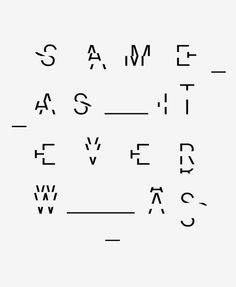 Same As It Ever Was #inspiration #illustration #typography