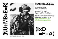 Rammellzee Evite_web.jpg (817×560) #poster #exhibition #art
