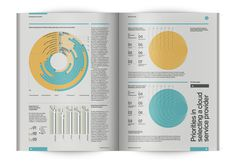 Infographic Survey: Navigating the Cloud on Behance #infographics #print #data #information