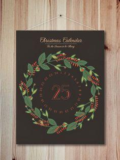West end girl #days #calendar #christmas #poster #25