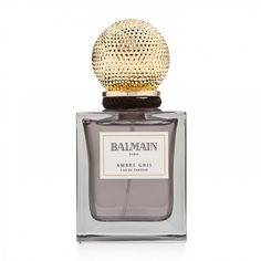 balmain-ambre-gris.jpg (900×900) #packaging #design #perfume #gold #parfum #metallic #package