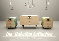 Pin Up Inspired Furniture Collection Marrying Retro Style and Functionality #furniture #retro #style