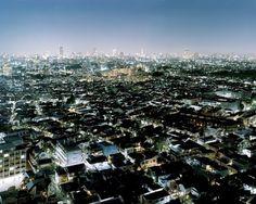 Satoshi Minakawa | September Industry #urban #sprawl #city #lights #fractal #photography #skyline #detail