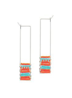 K Y Y O T E — Soma Beaded Earrings #jewelry #earrings