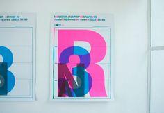 Tumblr #design #typography #bright #overprint