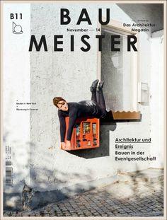 Bau Meister (Munich, Allemagne / Germany) #magazine #typography