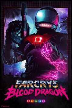 Far Cry 3 Blood Dragon by James White #blood #dragon #white #cry #signal #james #far #80s #noise