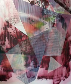 Chris Trueman | PICDIT #abstract #design #painting #art #colour