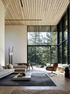 CorTen Steel House in Northern California, Faulkner Architects 3