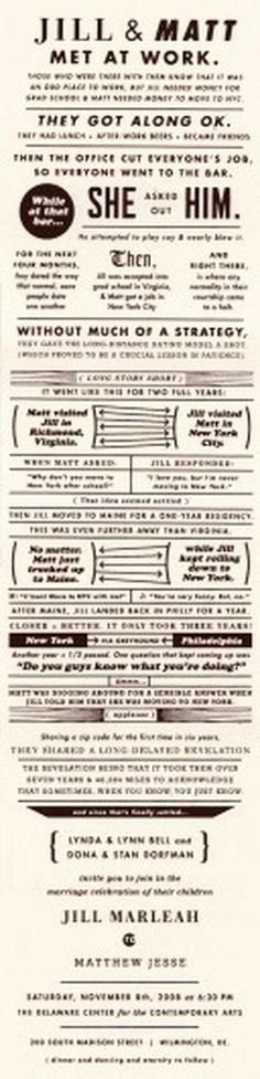 Matt Dorfman's News + Sketches + Accidents » Married.