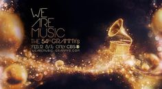 The 54th Grammy's - We Are Music on the Behance Network