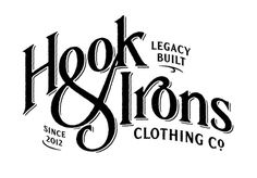 Hook & Irons by Simon Walker #type #typo #script #lettering #font #logo #brand #markAustin Eastcideres by Simon Walker #type #typo #script #