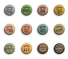 Summit Brewing Caps #packaging #beer