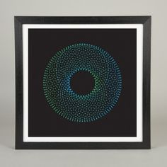 Sound Motion 2.1 | The Ghostly Store #art #shapes #sound #motion #colours #prints #michael cina #visuals