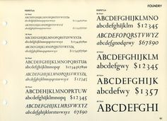 Perpetua was designed by Eric Gill in 1925 and produced as a Monotype font. #typography