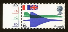 Wallace Henning - Notes #stamps #design #graphic #concorde