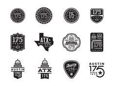 Austin 175th Anniversary Logo