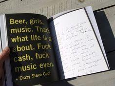 Cover Love Etcetera #punk #book