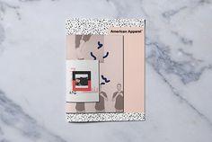 american apparel brochure quirky