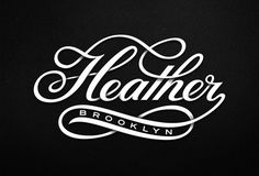 Typeverything.com   Heather Brooklyn by Michael Spitz.