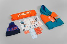 Standtall Clothing Co. by Made Together | #identity